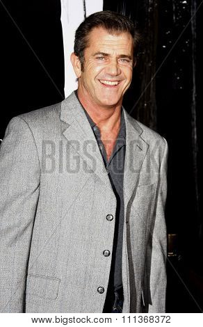 10/29/2007 - Hollywood - Mel Gibson attends the Hollywood Industry Screening of