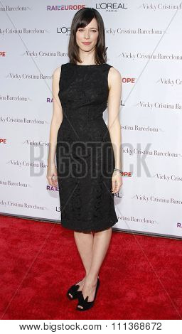 04/08/2008 - Westwood - Rebecca Hall at the Los Angeles Premiere of