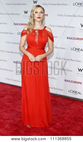 Scarlett Johansson at the Los Angeles Premiere of