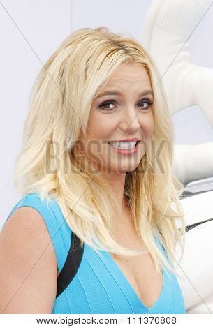 Britney Spears at the Los Angeles premiere of