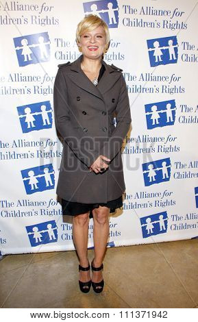 BEVERLY HILLS, USA - MARCH 1: Martha Plimpton at the Alliance for Children's Rights Dinner Honoring Kevin Reilly held at the Beverly Hilton Hotel in Los Angeles, USA on March 1, 2012.