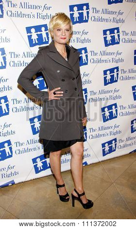 Martha Plimpton at the Alliance for Children's Rights Dinner Honoring Kevin Reilly held at the Beverly Hilton Hotel, California, United States on March 1, 2012.
