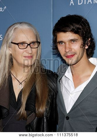 16/09/2009 - Hollywood - Jane Campion and Ben Whishaw at the Los Angeles Premiere of