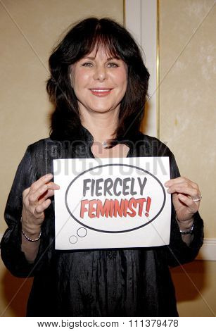 Mavis Leno at the Feminist Majority Foundation's 25th Anniversary held at the Beverly Hills Hotel in Beverly Hills, California, United States on May 1, 2012.