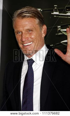 Dolph Lundgren at the Los Angeles premiere of