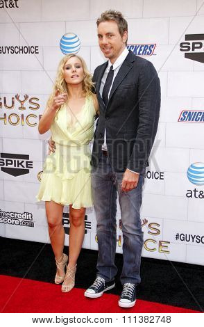 LOS ANGELES, USA - JUNE 2: Dax Shepard and Kristen Bell at the Spike TV's 6th Annual