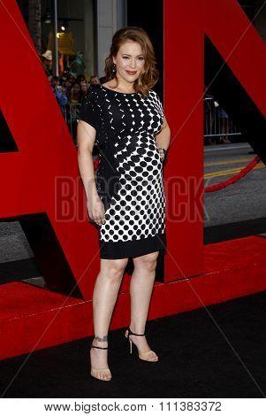 Alyssa Milano at the Los Angeles Premiere of