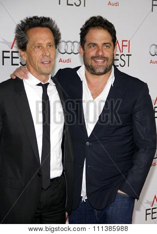 LOS ANGELES, USA - NOVEMBER 3: Brian Grazer and Brett Ratner at the AFI Fest 2011 Opening Night Gala World Premiere Of