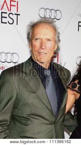 LOS ANGELES, USA - NOVEMBER 3: Clint Eastwood at the AFI Fest 2011 Opening Night Gala World Premiere Of