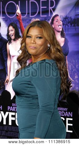 HOLLYWOOD, USA - JANUARY 9: Queen Latifah at the Warner Bros. World Premiere Of