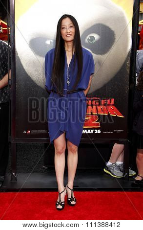 HOLLYWOOD, CALIFORNIA - Sunday May 22, 2011. Jennifer Yuh Nelson at the Los Angeles premiere of