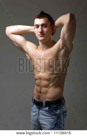 Beautiful And Sexy Muscular Man