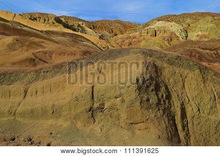 Vast Desert Badlands