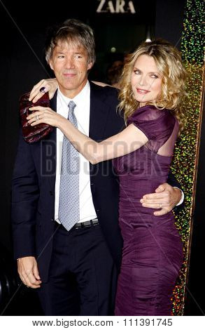 HOLLYWOOD, USA - DECEMBER 5: David E. Kelley and Michelle Pfeiffer at the Los Angeles Premiere of