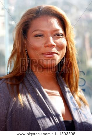 Queen Latifah at the People's Choice Awards Press Conference held at the London Hotel in West Hollywood, California, United States on November 9, 2010.