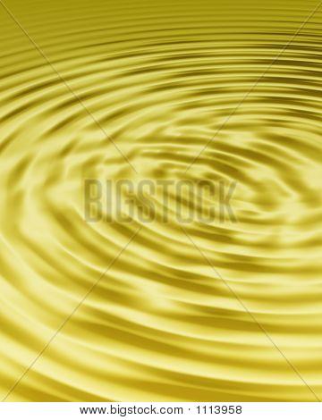 Gold Ripples Full Frame