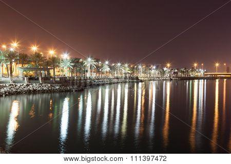 Al Ghous Corniche In Muharraq, Bahrain