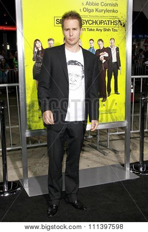 Sam Rockwell at the Los Angeles premiere of