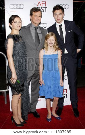 05/11/2009 - Hollywood - Ginnifer Goodwin, Colin Firth and Nicholas Hoult at the AFI FEST 2009 Screening of