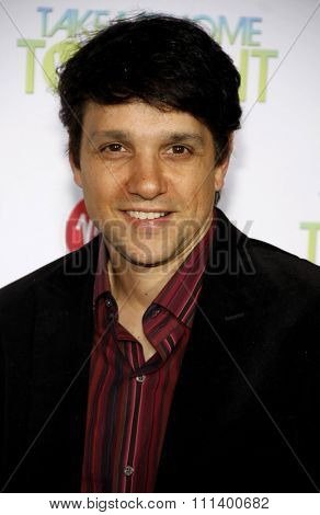 HOLLYWOOD, CALIFORNIA - Tuesday March 2, 2011. Ralph Macchio at the Los Angeles premiere of