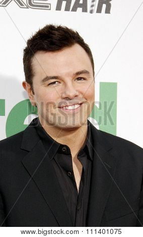 Seth MacFarlane at the Los Angeles premiere of