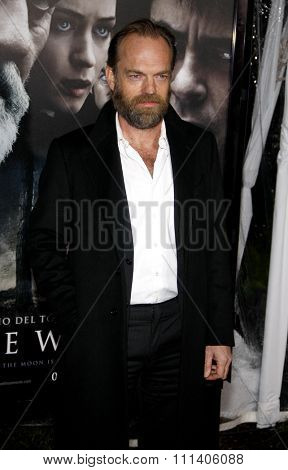 Hugo Weaving at the American Premiere of