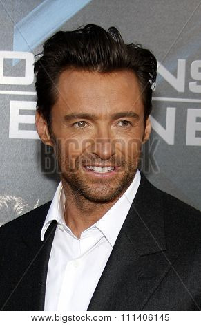 Hugh Jackman at the Los Angeles Premiere of
