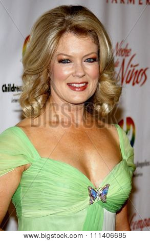 Mary Hart at the 2009 Noche De Ninos Gala held at the Beverly Hilton Hotel in Beverly Hills, California, United States on May 9, 2009.