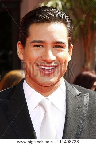 Mario Lopez attends the 59th Annual Primetime Emmy Awards held at the Shrine Auditorium in Los Angeles, California, United States on September 16, 2007.