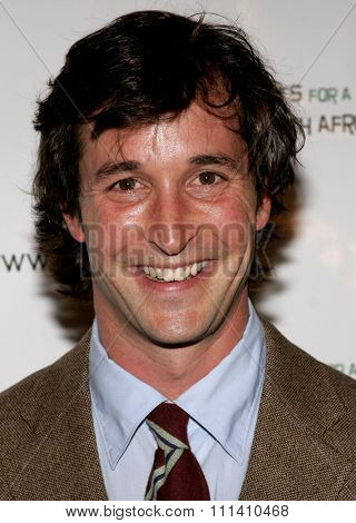 Noah Wyle attends the Archbishop Desmond Tutu's 75th Birthday Celebration held at the Regent Beverly Wilshire Hotel in Beverly Hills, California on September 18, 2006.
