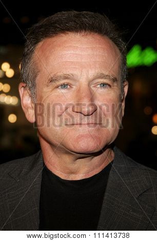 Robin Williams attends the
