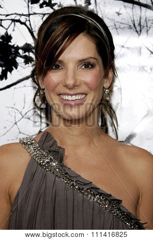 Sandra Bullock attends the Los Angeles Premiere of
