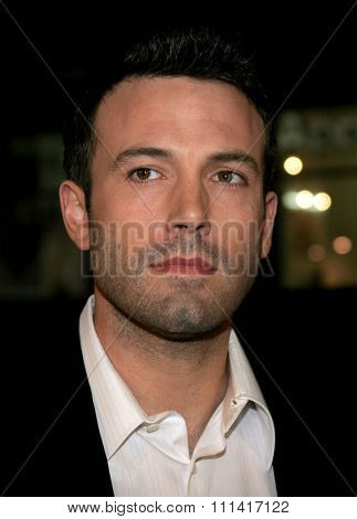 Ben Affleck attends the World Premiere of