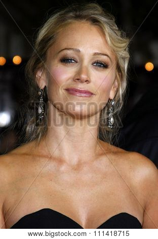 Christine Taylor attends the Los Angeles Premiere of