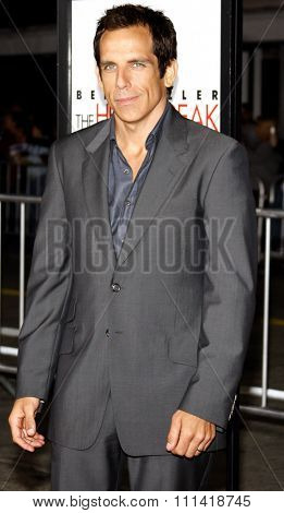 Ben Stiller attends the Los Angeles Premiere of