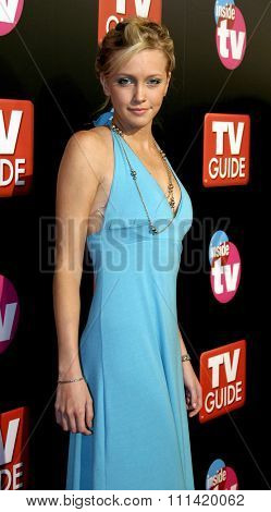 Katie Cassidy attends the 57th Annual Emmy Awards TV Guide and Inside TV After Party held at the Roosevelt Hotel in Hollywood, California, on September 18, 2005.
