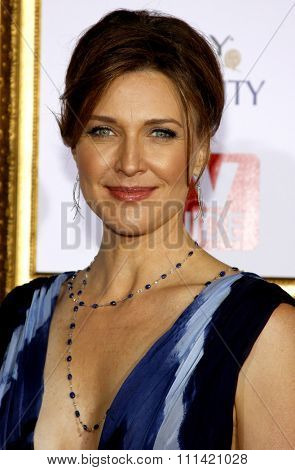 Brenda Strong attends the 5th Annual TV Guide's Emmy Awards Afterparty held at the Les Deux in Hollywood, California, United States on September 16, 2007.