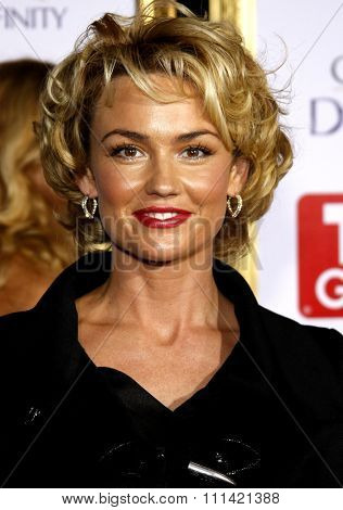 Kelly Carlson attends the 5th Annual TV Guide's Emmy Awards Afterparty held at the Les Deux in Hollywood, California, United States on September 16, 2007.