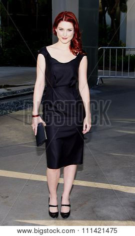 LOS ANGELES, USA - JUNE 21: Alexandra Breckenridge at the Premiere Of HBO's
