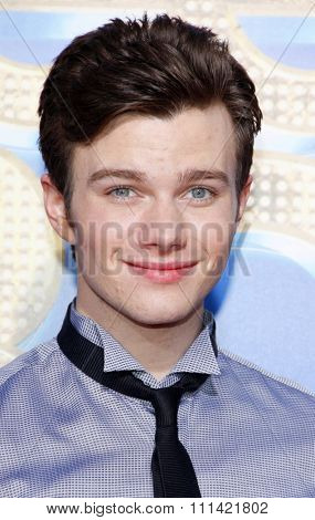 WESTWOOD, USA - AUGUST 6: Chris Colfer at the Los Angeles Premiere of