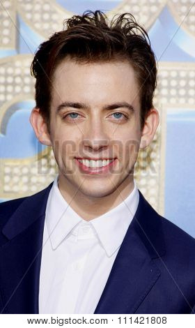 WESTWOOD, USA - AUGUST 6: Kevin McHale at the Los Angeles Premiere of