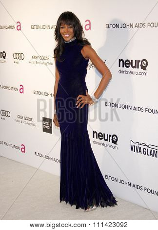 Naomi Campbell at the 21st Annual Elton John AIDS Foundation Academy Awards Viewing Party held at the Pacific Design Center in Los Angeles, United States, 240213.