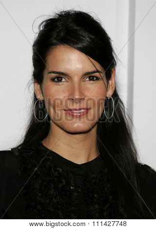 December 7, 2006. Angie Harmon attends the Los Angeles Premiere of