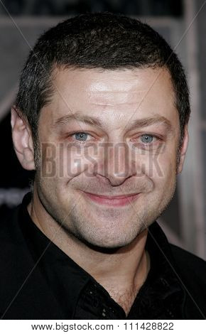 October 17, 2006. Andy Serkis attends the World Premiere of
