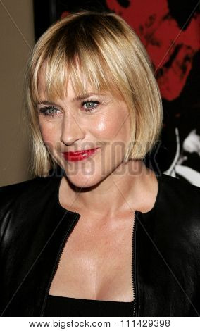 October 13, 2006. Patricia Arquette attends the Los Angeles Premiere of