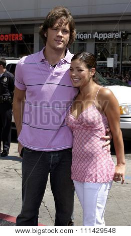 July 10, 2005. Jared Padalecki attends at the