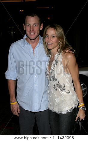 11/21/2005 - Beverly Hills - Lance Armstrong and Sheryl Crow at the Los Angeles Free Clinic's 29th Annual Dinner Gala at the Regent Beverly Wilshire in Beverly Hills, CA, USA.