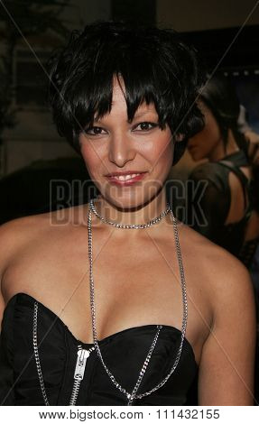 December 1, 2005. Yangzom Brauen attends the Wolrd Premiere of Aeon Flux at the Cinerama Dome in Hollywood, California United States.