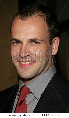 December 1, 2005. Jonny Lee Miller attends the Wolrd Premiere of Aeon Flux at the Cinerama Dome in Hollywood, California United States.