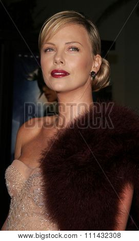 12/1/2005 - Hollywood - Charlize Theron at the Aeon Flux World Premiere at the Cinerama Dome in Hollywood, CA, United States.